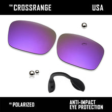 Load image into Gallery viewer, Anti Scratch Polarized Replacement Lens & Nose Pads for-Oakley Crossrange OO9361