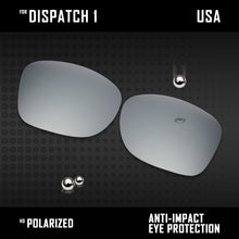 Load image into Gallery viewer, Anti Scratch Polarized Replacement Lenses for-Oakley Dispatch 1 OO9090 Options