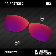 Load image into Gallery viewer, Anti Scratch Polarized Replacement Lenses for-Oakley Dispatch 2 OO9150 Options