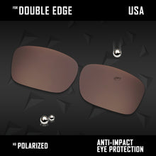 Load image into Gallery viewer, Anti Scratch Polarized Replacement Lenses for-Oakley Double Edge OO9380 Options