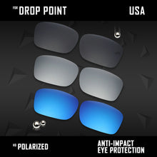 Load image into Gallery viewer, Anti Scratch Polarized Replacement Lenses for-Oakley Drop Point OO9380 Options