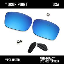 Load image into Gallery viewer, Anti Scratch Polarized Replacement Lens & Nose Pads for-Oakley Drop Point OO9367