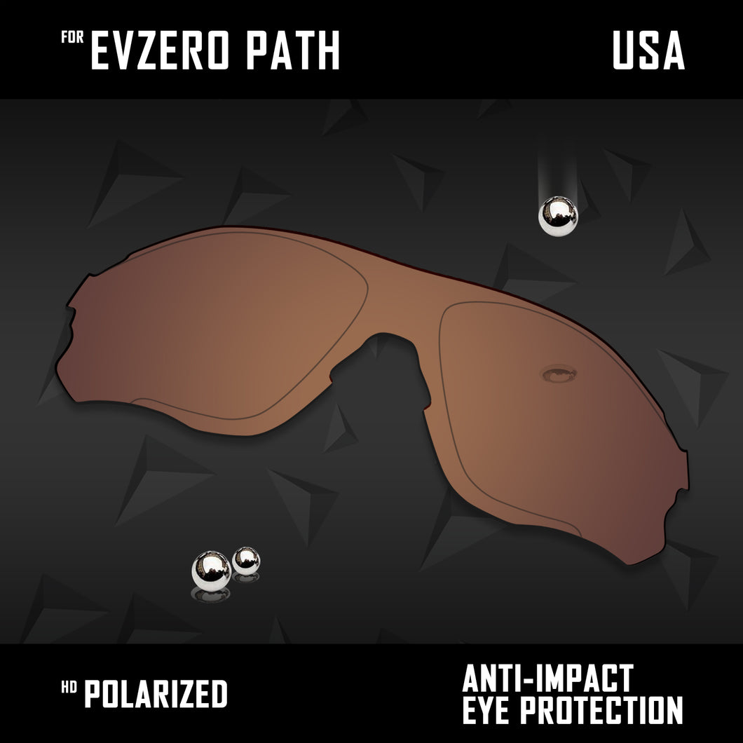 Anti Scratch Polarized Replacement Lenses for-Oakley EVZero Path OO9313 Options