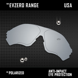Anti Scratch Polarized Replacement Lenses for-Oakley EVZero Range OO9327 Options
