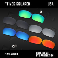 Load image into Gallery viewer, Anti Scratch Polarized Replacement Lenses for-Oakley Fives Squared Options