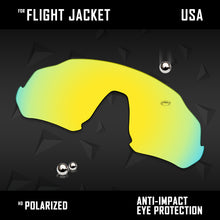 Load image into Gallery viewer, Anti Scratch Polarized Replacement Lenses for-Oakley Flight Jacket OO9401 Opt
