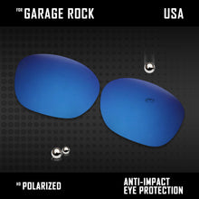 Load image into Gallery viewer, Anti Scratch Polarized Replacement Lenses for-Oakley Garage Rock OO9175 Options