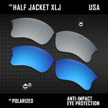 Load image into Gallery viewer, Anti Scratch Polarized Replacement Lenses for-Oakley Half Jacket XLJ Options