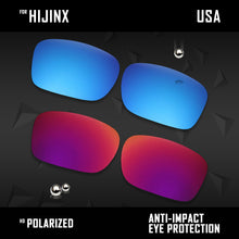Load image into Gallery viewer, Anti Scratch Polarized Replacement Lenses for-Oakley Hijinx OO9021 Options