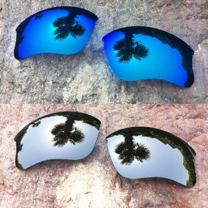 LenzPower Polarized Replacement Lenses for Flak Jacket XLJ Options
