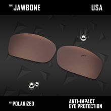 Load image into Gallery viewer, Anti Scratch Polarized Replacement Lenses for-Oakley Jawbone Options