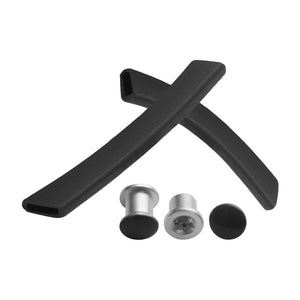 Silicone Replacement Ear Socks & Nose Piece For-Oakley Split Jacket OO9099 Opt