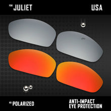 Load image into Gallery viewer, Anti Scratch Polarized Replacement Lenses for-Oakley Juliet Options