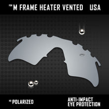 Load image into Gallery viewer, Anti Scratch Polarized Replacement Lenses for-Oakley M Frame Heater Vented Opt