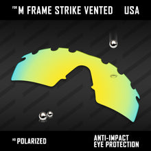 Load image into Gallery viewer, Anti Scratch Polarized Replacement Lenses for-Oakley M Frame Strike Vented Opt