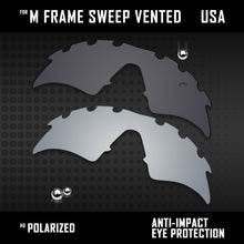 Load image into Gallery viewer, Anti Scratch Polarized Replacement Lenses for-Oakley M Frame Sweep Vented Opt