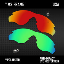 Load image into Gallery viewer, Anti Scratch Polarized Replacement Lenses for-Oakley M2 Frame OO9212 Options