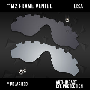 Anti Scratch Polarized Replacement Lenses for-Oakley M2 Frame Vented Options