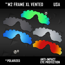 Load image into Gallery viewer, Anti Scratch Polarized Replacement Lens for-Oakley M2 Frame XL Vented OO9343 Opt