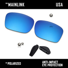 Load image into Gallery viewer, Anti Scratch Polarized Replacement Lenses&Rubber Kits for-Oakley Mainlink OO9264
