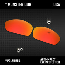 Load image into Gallery viewer, Anti Scratch Polarized Replacement Lenses for-Oakley Monster Dog Options