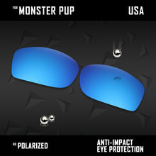 Load image into Gallery viewer, Anti Scratch Polarized Replacement Lenses for-Oakley Monster Pup Options