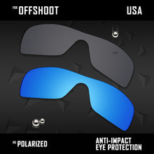 Load image into Gallery viewer, Anti Scratch Polarized Replacement Lenses for-Oakley Offshoot OO9190 Options