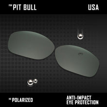 Load image into Gallery viewer, Anti Scratch Polarized Replacement Lenses for-Oakley Pit Bull OO9127 Options