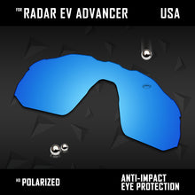 Load image into Gallery viewer, Anti Scratch Polarized Replacement Lens for-Oakley Radar EV Advancer OO9442 Opt