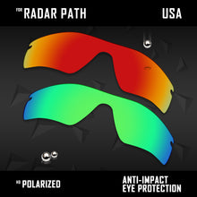 Load image into Gallery viewer, Anti Scratch Polarized Replacement Lenses for-Oakley Radar Path Options