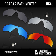 Load image into Gallery viewer, Anti Scratch Polarized Replacement Lenses for-Oakley Radar Path Vented Options