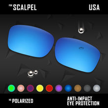 Load image into Gallery viewer, Anti Scratch Polarized Replacement Lenses for-Oakley Scalpel OO9095 Options