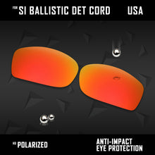 Load image into Gallery viewer, Anti Scratch Polarized Replacement Lenses for-Oakley Si Ballistic Det Cord Opts