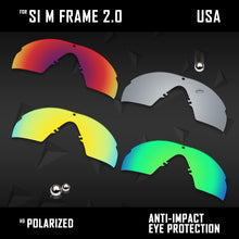 Load image into Gallery viewer, Anti Scratch Polarized Replacement Lenses for-Oakley Si M Frame 2.0 Options