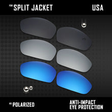 Load image into Gallery viewer, Anti Scratch Polarized Replacement Lenses for-Oakley Split Jacket OO9099 Options