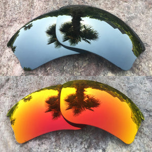 LenzPower Polarized Replacement Lenses for Half Jacket XLJ Options