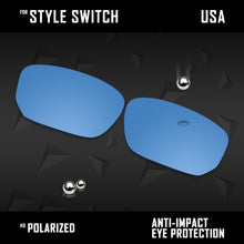 Load image into Gallery viewer, Anti Scratch Polarized Replacement Lenses for-Oakley Style Switch OO9194 Opts