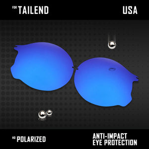 Anti Scratch Polarized Replacement Lenses for-Oakley Tailend OO4088 Options