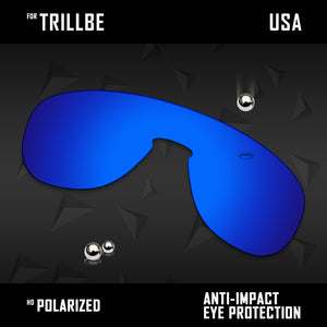 Anti Scratch Polarized Replacement Lenses for-Oakley Trillbe OO9318 Options