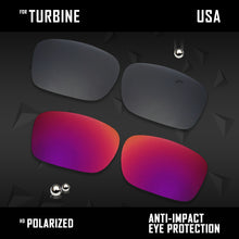 Load image into Gallery viewer, Anti Scratch Polarized Replacement Lenses for-Oakley Turbine OO9380 Options