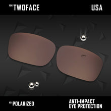 Load image into Gallery viewer, Anti Scratch Polarized Replacement Lenses for-Oakley TwoFace OO9189 Options
