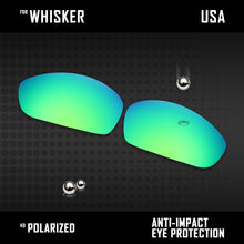 Load image into Gallery viewer, Anti Scratch Polarized Replacement Lenses for-Oakley Whisker Options