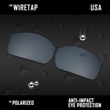 Load image into Gallery viewer, Anti Scratch Polarized Replacement Lenses for-Oakley WireTap Options