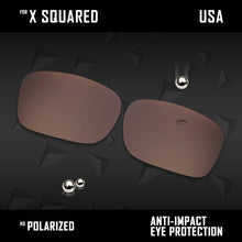 Load image into Gallery viewer, Anti Scratch Polarized Replacement Lenses for-Oakley X Squared OO6011 Options