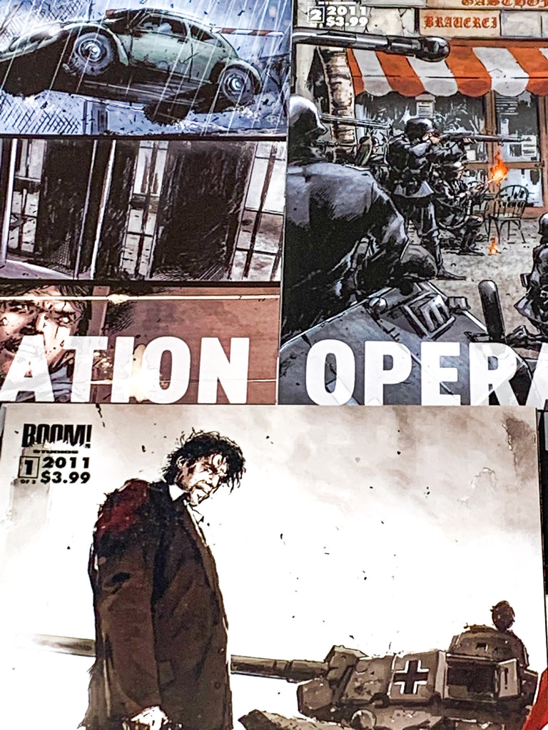 HUNDRED WORD HIT #8 - OPERATION: BROKEN WINGS, 1936 #1-3