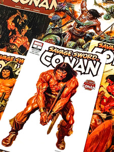 HUNDRED WORD HIT #11 - SAVAGE SWORD OF CONAN #1-5
