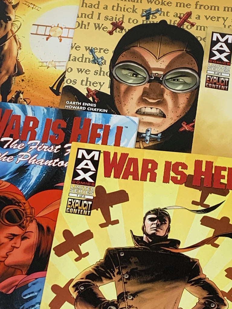 HUNDRED WORD HIT #79 - WAR IS HELL: THE FIRST FLIGHT OF THE PHANTOM EAGLE #1-5