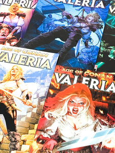 HUNDRED WORD HIT #52 - AGE OF CONAN: VALERIA #1-5