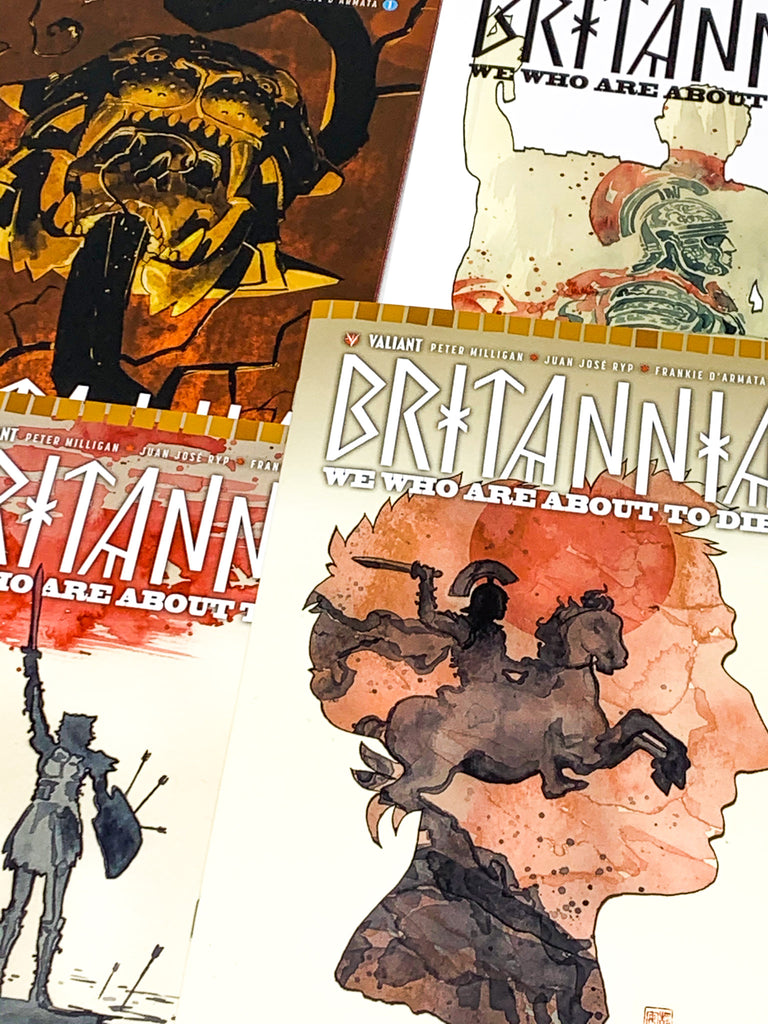 HUNDRED WORD HIT #55 - BRITANNIA: WE WHO ARE ABOUT TO DIE #1-4