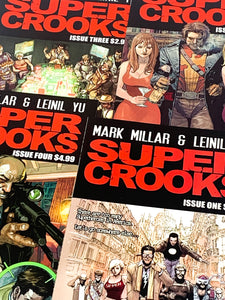 HUNDRED WORD HIT #63 - SUPER CROOKS #1-4